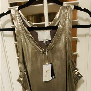 Platinum Phillip Lim Sheath Dress Sz 4 New